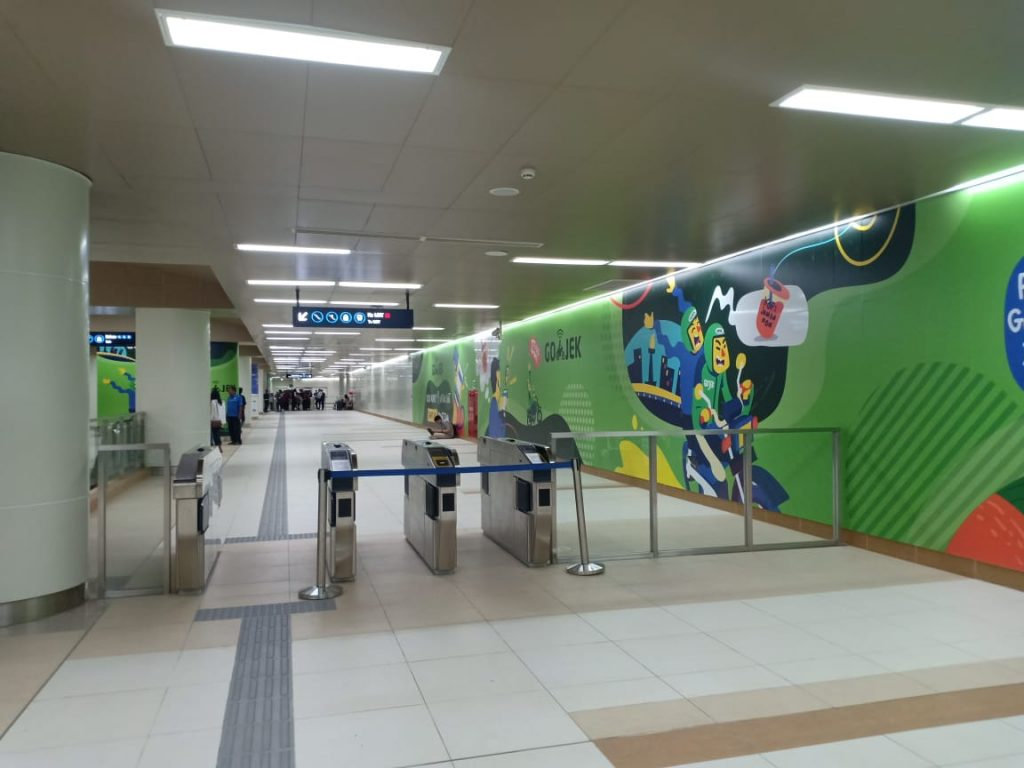 Tap Out MRT Indonesia A-Z